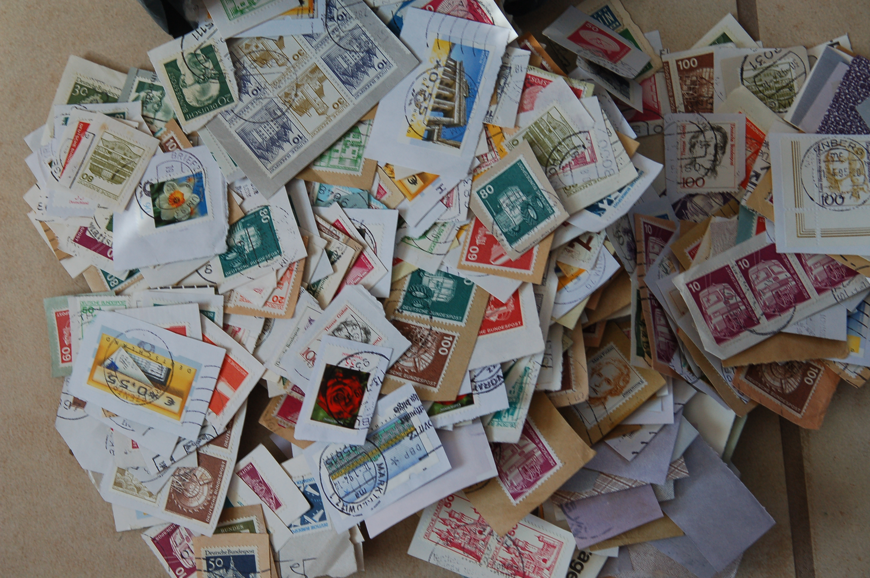 stamps by the kilo stamp collecting on the cheap