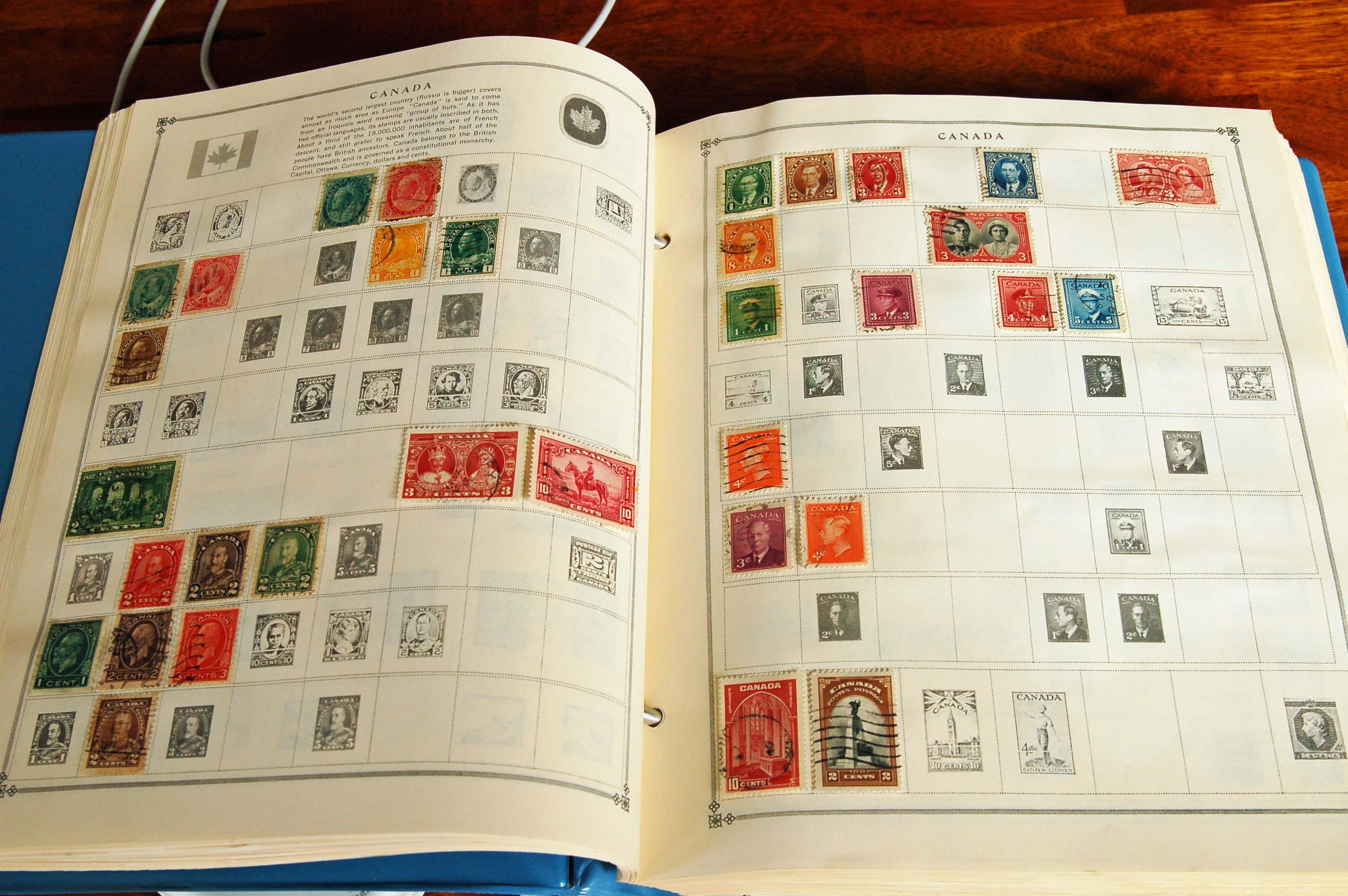Stamp Albums For Beginner